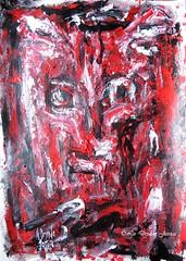 Dark distortion (LaDryadaJessica) Tags: ladryadajessica art peinture modernart dark painting acrylics artmoderne acrylique