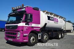 Add Watermark20190919122442 (richellis1978) Tags: truck lorry haulage transport logistics freight cannock volvo fm arclid tanker po13wvb