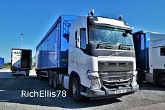 Add Watermark20190919122350 (richellis1978) Tags: truck lorry haulage transport logistics freight cannock volvo fh fh4 bulk waste kr66jru