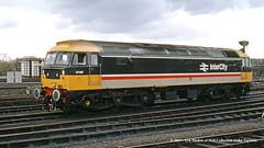 06/04/1985 - York (YK) TMD. (53A Models) Tags: britishrail brush type4 class47 47487 diesel york yk tmd train railway locomotive railroad