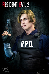 Aniventure Comic-Con 2019: Day 1 edits: Leon Kennedy by Aoki Lifestream (SpirosK photography) Tags: sofia bulgaria σόφια βουλγαρία expo cosplay costumeplay aniventure comiccon aniventurecomiccon aniventurecomiccon2019 portrait leonkennedy narga aoki nargaaoki residentevil residentevil2 biohazard game videogame videogamecharacter