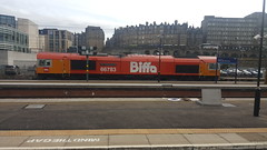 66783 Edinburgh Waverley 14/09/19 (UK Rail Pics) Tags: edinburghwaverley 66783 biffa theflyingdustman gbrf gb railfreight