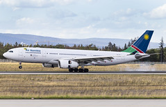 V5-ANP Airbus A330-200 Air Namibia FRA 2019-08-10 (29a) (Marvin Mutz) Tags: air airbus namibia a330200 v5anp aviation fra planespotting avgeek plane airplane aircraft cockpit aeroplane pilot travel transport jet crew passenger jetliner airport wings engines airline runway airliner sky clouds apron taxiway germany flying frankfurt main flight landing arrival touchdown eddf