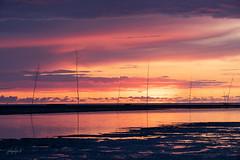 Sunset North Sea (fotobagaluten.de) Tags: dorumerwasserlöse dorum nordsee seascape landscape landschaft seaside sunset sonnenuntergang ocean sea meer wattenmeer waddensea sky