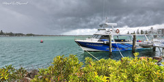 Storm Over Forster 05871 s (kevin.chippindall) Tags: forsterphotography seascape boats storm clouds