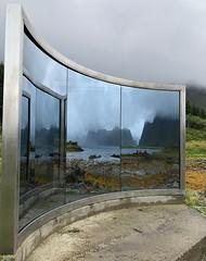(mo-barton.pixels.com) Tags: norway sculpture mirror reflection nordland