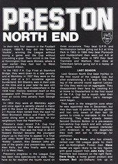 Walsall vs Preston North End - 1982 - Page 6 (The Sky Strikers) Tags: walsall preston north end fellows park football league milk cup road to wembley official matchday magazine 35p