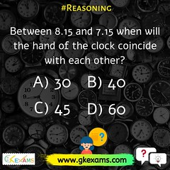 time sequence reasoning (Gkexams.) Tags: gkexams geography gk gkexam gkexmas reasoning reasoningquiz education exams test currentaffairs competitionexams mocktest quiztest computer indiahistoryquestions rajasthan pro history flickr photoshop photo quiz india hindi