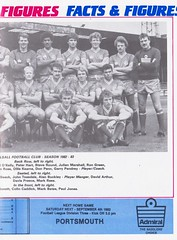 Walsall vs Preston North End - 1982 - Page 9 (The Sky Strikers) Tags: walsall preston north end fellows park football league milk cup road to wembley official matchday magazine 35p