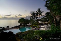 20190911-67-Sunset from Pacific Resort Aitutaki (Roger T Wong) Tags: 2019 aitutaki cookislands pacific pacificisland pacificresort rogertwong sel24105g sony24105 sonya7iii sonyalpha7iii sonyfe24105mmf4goss sonyilce7m3 holiday isalnd lagoon pool resort travel