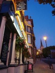 High Street, Walsall (Mr-NHW) Tags: walsall west midlands street black country arms pub st matthews church dusk evening