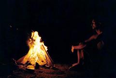 Promethian (Karsten Fatur) Tags: portrait model malemodel gay lgbt lgbtq queer queerart gayman gayart film 35mm kodak kodakgold minolta analogue vintage canada fredericton newbrunswick summer filmgrain maked nude nudemodel nakedmodel camping fire campfire lighting firelight
