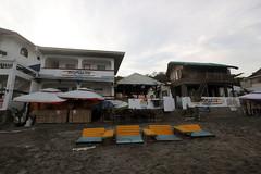 beside The Little Surfmaid Resort (_gem_) Tags: philippines launion ilocosregion ilocos beach travel sanjuan urbiztondo urbiztondobeach sand chairs architecture building design