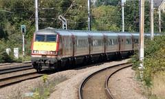 82210. (wagn1) Tags: britishrailclass82 class82 drivingvantrailer dvt britishrail mark4 intercity225 ic225 londonnortheasternrailway lner virgintrainseastcoast virgintrains eastcoast oakleighpark london