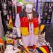 Gemischte Deutschland Fanartikel mit Mütze, Fahne, Halsband und Westen