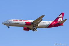 Canadian North / First Air merged (galenburrows) Tags: canada boeing 737 firstair 737400 canadiannorth ottawa yow cyow
