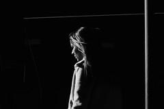 De Cara Al Sol - Retrato Urbano (natan_salinas) Tags: streetphotography fotografíaurbana fotografíacallejera bw blackwhite blanconegro bn blancoynegro blackandwhite monocromático woman monochrome nikon gente miradas look mujer mirada portrait retrato girl muchacha d5100 female femenine femme street calle urbe urban urbano 50mm joven young cara face rostro streetportrait retratocallejero retratourbano people noiretblanc valparaíso valpo city ciudad luz light shadow sombras chile