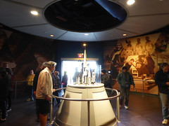 Florida Day 18 - 021 Kennedy Space Center Heroes and Legends (TravelShorts) Tags: ksc kennedyspacecenter capecanaveral trex restaurant dinosurs disney dining table service food astronaut encounter wendy lawrence space shuttle atlantis apollo saturn rocket hall fame artifacts flown stars suits moon walk moonwalk moonrock mission mars journey lecture heroes legends boosters the cape memorial 11 bus tour bustour spacex launchpad csm lunar lander command module neil armstrong vehicle assembly building vab mercury gemini control alan shepard buzz aldrin