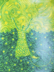 sea (lilotus32@ymail.com) Tags: art contemporaryart drawing painting creative creation picture watercolour искусство рисование творчество акварель рисунок картина sea sun wings fish green море солнце крылья рыба