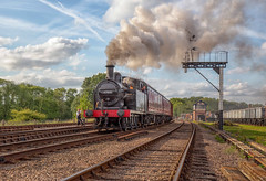 Clear Road Ahead (photofitzp) Tags: 47406 gcr jinty lms lner railways reenactors smoke steam swithlandsidings timelineevents local signalbox suburban