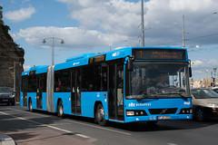 Volvo 7700A (FJX-208) (Aron Sonfalvi) Tags: volvo volvobus volvo7700a bkv bkvzrt bkvbus bkvvolvo articulatedbus