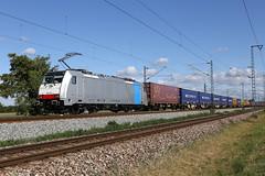 LINEAS 186 510-4 Containerzug, Bruchsal (michaelgoll777) Tags: lineas br186 traxx railpool