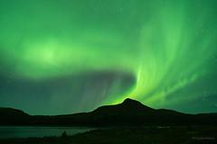 Volcan vert/Green volcano/volcán verde (Ceomga) Tags: claudehamel auroresboréales northernlights auroraborealis nunavik rivièregeorge pyramidmountain georgeriver
