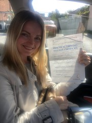 Massive congratulations to Tania passing her driving test with only 4 minor faults!  www.leosdrivingschool.com  WARNING: Getting your license is a good achievement however being a SAFE driver for life is the biggest achievement!