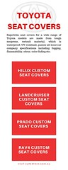 Toyota Custom Car Seat Covers (supertrimcarseats) Tags: toyota car seat covers