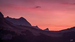 Lever du jour sur les montagnes (imagene74) Tags: colarpettaz leverdujour montagne nature