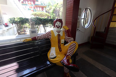 Ronald McDonald at Ma Cho/ Ma Tzu Temple (_gem_) Tags: philippines launion ilocosregion ilocos beach travel sanfernando macho matzu mazu temple shrine machotemple matzutemple mazutemple taoist taoism chinese chinesetemple
