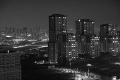 Cityscape (mesutsuat) Tags: istanbul başakşehir şehir city citiscape cityscape bw blackwhite sb siyahbeyaz fujifilm xt20 xf 1855 f28