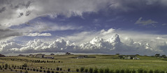 Developing Line of Storms (Explored) (northern_nights) Tags: thuinderstorms pano panorama storms thunderhead convectiveline weather tornado severeweather cheyenne wyoming