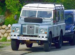 Land Rover Safari BN56787 still on the roads of Denmark (sms88aec) Tags: land rover safari bn56787 still roads denmark