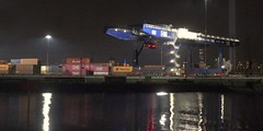 Port Jersey 12 (stevensiegel260) Tags: portjersey night cranes port shipping containerport newjersey tributeinlight
