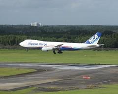 Nippon Cargo                                              Boeing 747-8F                                      JA18KZ (Flame1958) Tags: nipponcargo nipponcargoairlines nca nipponcargob747 boeing747 boeing b747 747 b747f 747f b747800 nrt tokyonaritaairport naritaairport 080919 0919 2019 9360