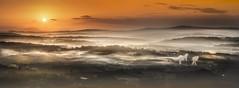 Vea (Noel F.) Tags: raris vea vilariño bamonde teo galiza galicia mencer sunrise neboa fog mist sony a7riii a7r iii panorama fe 100400 gm