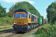 66765 Water Orton (anson52) Tags: 66 667 gbrf