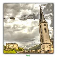 GMÜND (régisa) Tags: gmünd austria österreich autriche carinthie kärnten église kirche church castle chateau altenburg burg pfarrkirche mariahimmelfahrt gotisch