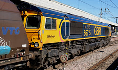 Class 66: 66715 GBRf Newcastle Central (emdjt42) Tags: class66 66715 gbrf newcastlecentral