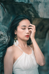 TOM01746 (HwaCheng Wang 王華政) Tags: 外拍 md model portraiture sony a7r3 ilce7rm3 a7r mark3 a9 ilce9 24 35 85 gm 廢墟 ruin rizzie lin 人像