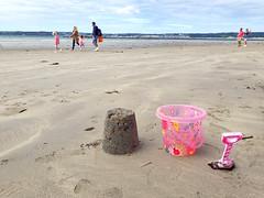 I Do Like to Be Beside the Seaside (Helen Orozco) Tags: cornwall withma bucket spade sandcastle beach lowtide fun seaside people sand marazion