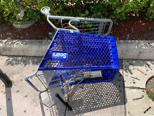 Abandoned Sears Cart Coral Gables