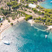 Myrtoan Sea at Zogeria Beach on Spetses, Greece