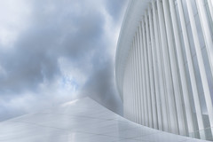 White Stuff (marionrosengarten) Tags: luxembourg philharmonie white cloudysky architecture building architektur gebäude nikon wideangle uww christiandeportzamparc kirchberg kirchbergplateau hdr bilderreihe