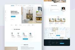 Home Renovations Service Website Design (designsolvesprob) Tags: renovations home bathroom renovation kitchenrenovation website design