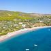 Strand Agioi Anargyri auf Spetses, Griechenland