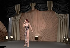 September Designer Showcase #4 1 (Treycee Melody) Tags: designershowcase event monthly shopping gown heels shoes jewelry accessories earrings necklace colorhud fashion style secondlife womens backdropcove