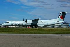 C-GGNW (Air Canada EXPRESS - JAZZ) (Steelhead 2010) Tags: aircanada aircanadaexpress jazz yyz creg cggnw bombardier dhc8 dhc8q400