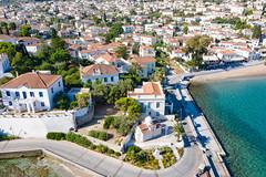 Agios Mamas Church on Spetses, Greece